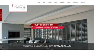 Custom Lifestyle Shutters