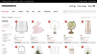 Woolworths Home Decor