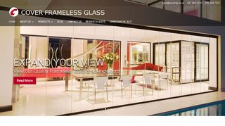 Cover Frameless Glass